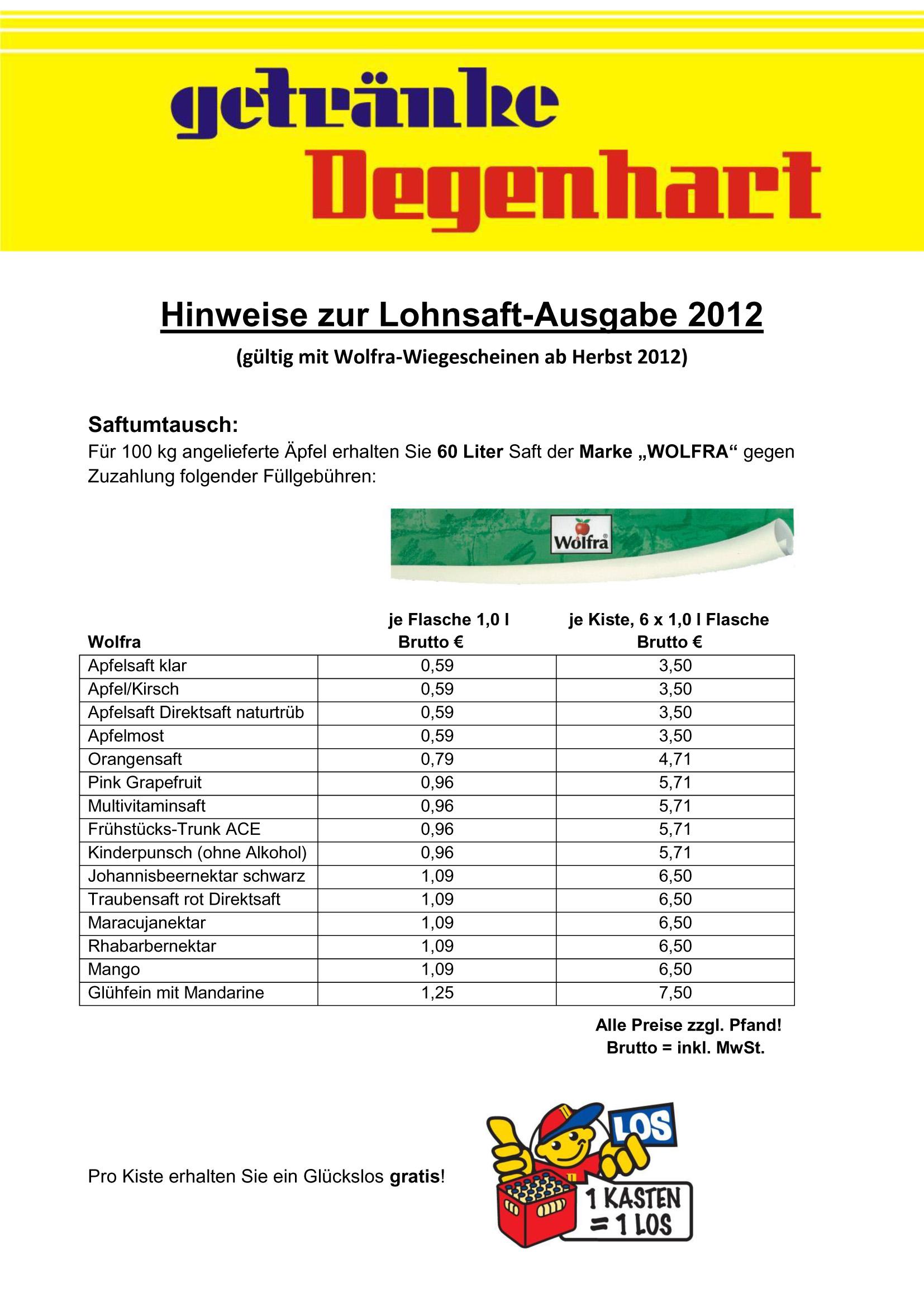 Getränke Degenhart - Der starke Getränkemarkt in Ihrer Region